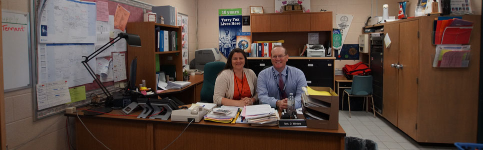St. Theresa Catholic School administrative team.
